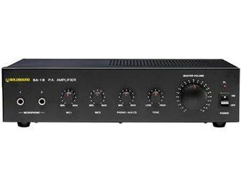 Ampli audio stéréo